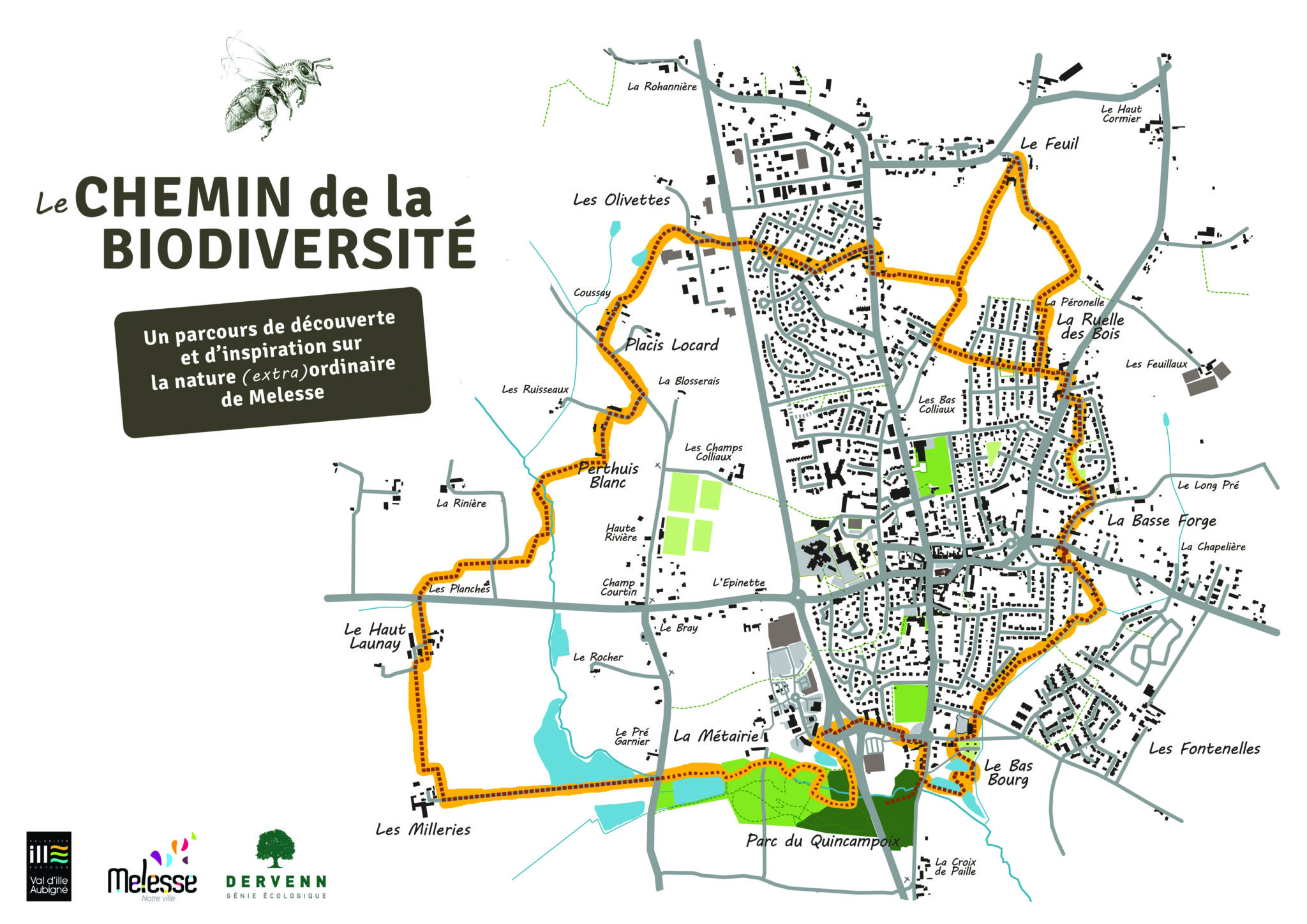 carte du chemin
