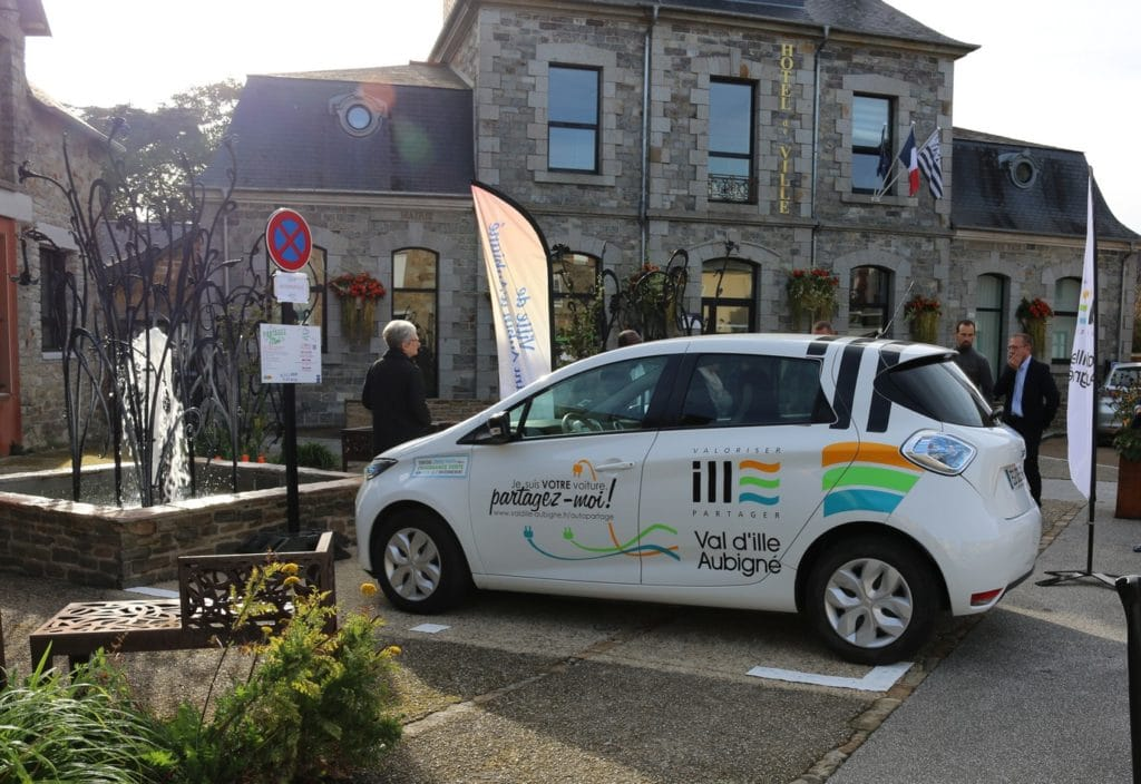 voiture autopartage à St Aubin